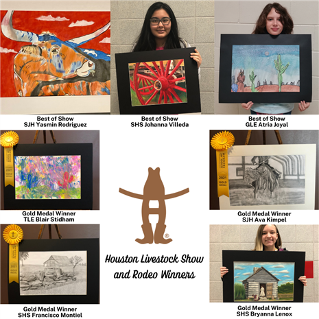 Houston Livestock Show and Rodeo Art Winners