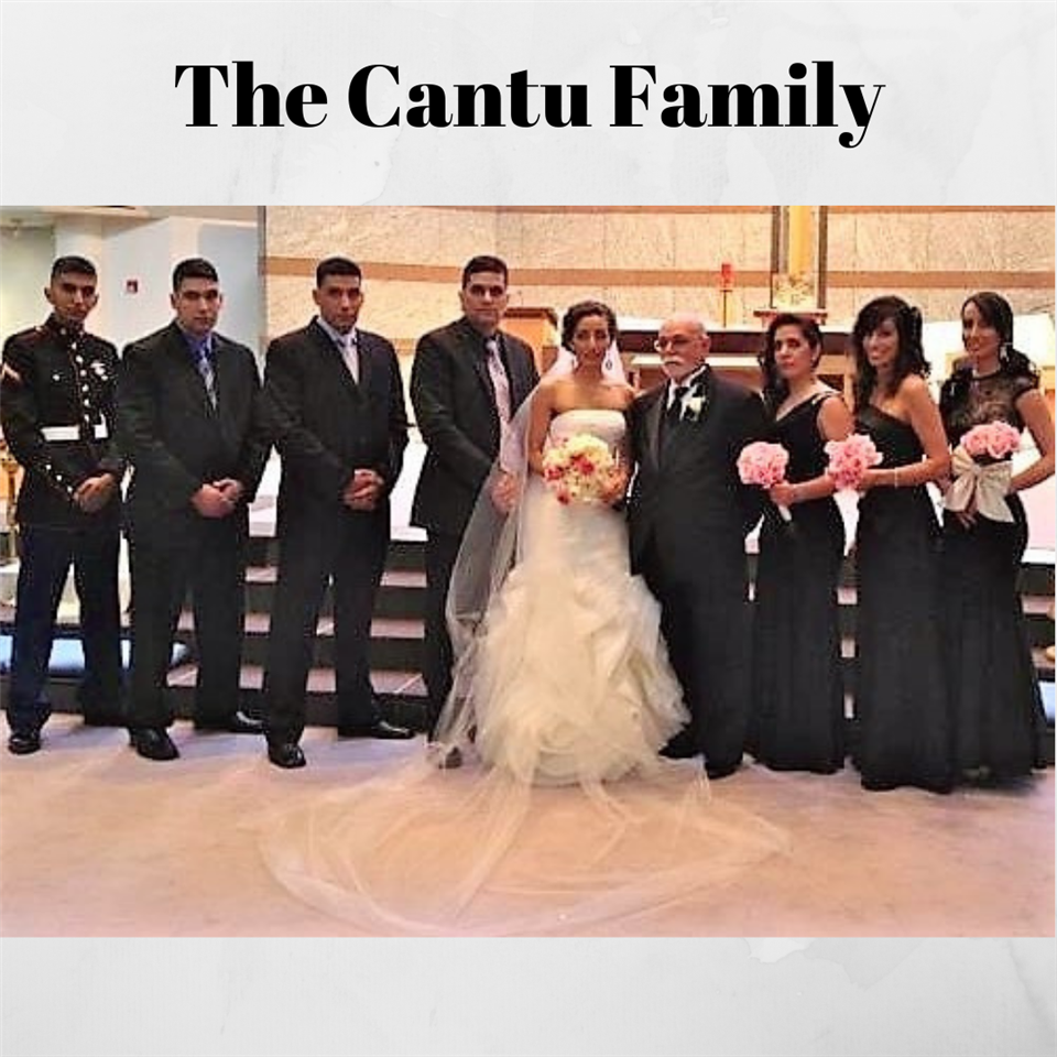 The Cantu Family is Dedicated to Serving Our Country