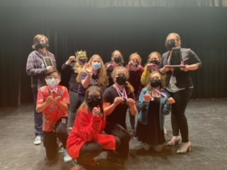 SJH Students Capture 2nd in One-Act Play